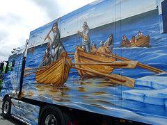 Truckertreffen Geiselwind 2011 (sunrise25) Tags: truck airbrush lastwagen lkw showtruck geiselwind truckertreffen strohofer
