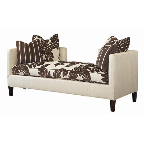 Lexington Home Brands Lexington Upholstery Sebastian Two-Sided Settee - Baeru0027s Furniture - Bench Miami Ft. Lauderdale Orlando Sarasota Naples u2026  sc 1 st  Pinterest : two sided chaise - Sectionals, Sofas & Couches