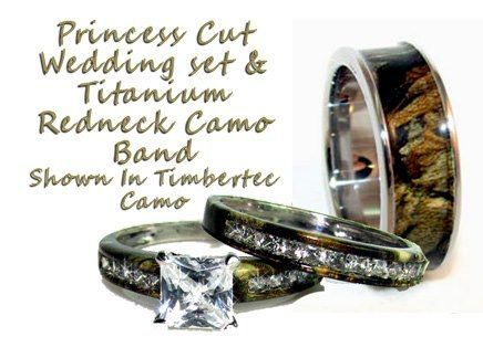 Camouflage Wedding Rings | CamoRing.com - Camo Rings and Camo wedding supplies | Facebook