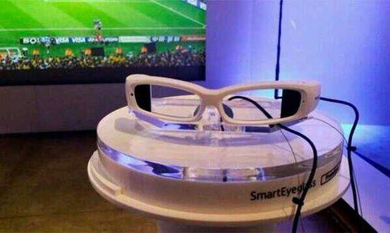 La tecnologia de la realidad aumentada estará en Brasil 2014, gafas Sony.