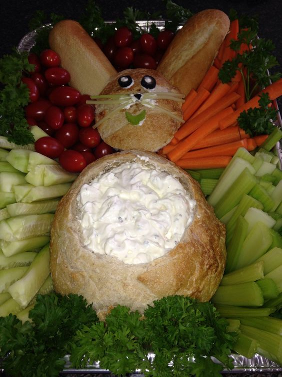 Easter Crudités