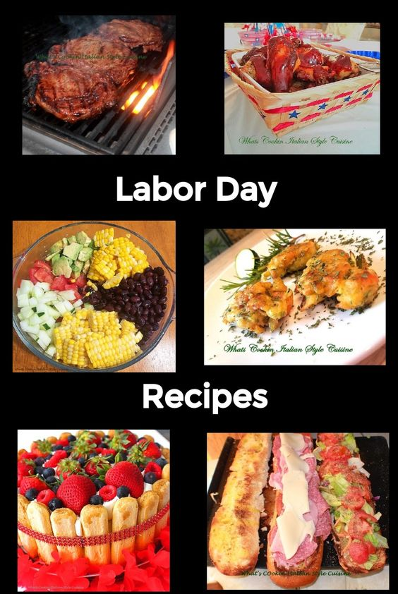 Happy Labor Day Recipes