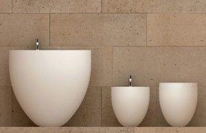Oval Bathroom Suites in Half Egg Shape - Le Giare Bathroom Suites