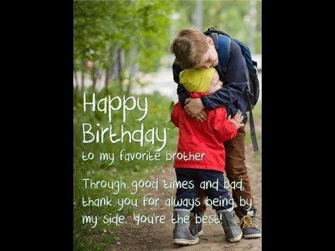 Whatsapp Status Birthday Wishes Happy Birthday My Brother