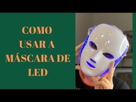 Tudo Sobre Fototerapia E Seus Benefícios Máscara De Led Youtube Led Máscara Limpeza De Pele