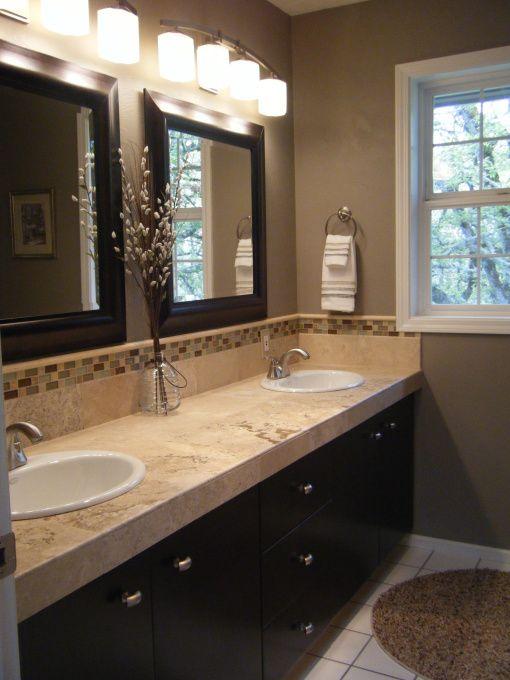 Brown bathroom inspiration