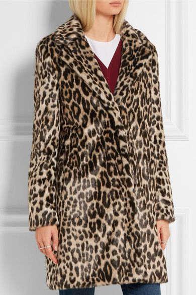 Stella McCartney | Leopard-print faux fur coat | NET-A-PORTER.COM