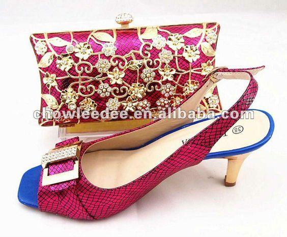Lady Dress Shoes With Matching Handbag - Buy Women Dress Shoes ...