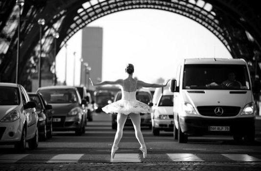 fotógrafo Little Shao. Ballet em Paris.