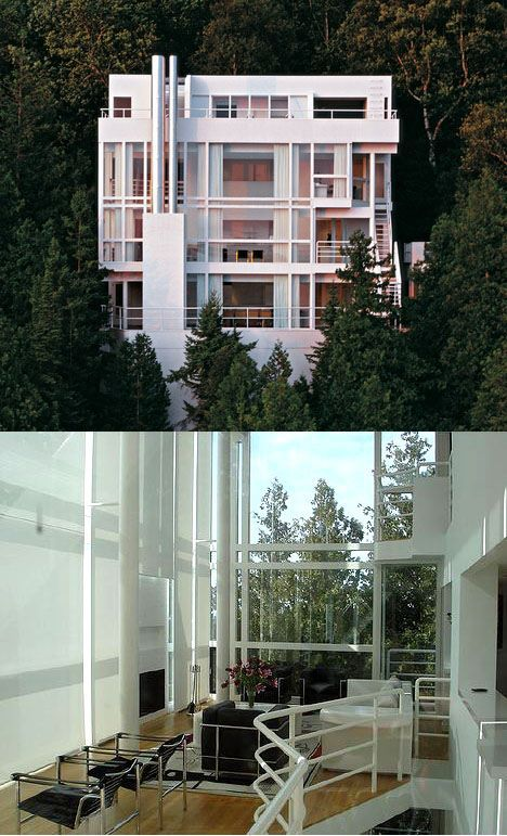 Douglas House Richard Meier by Epok