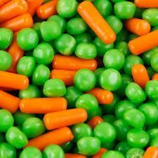 If you like our candy corn, you'll love our Peas & Carrots!