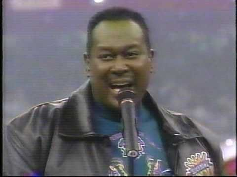 Luther Vandross Superbowl Xxxi National Anthem Luther Vandross