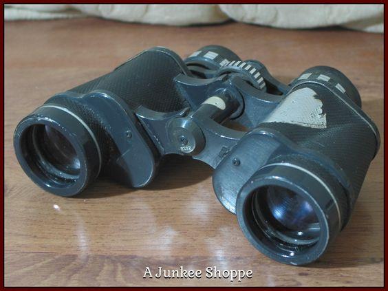 JASON EMPIRE CLIPPER Model 7 x 35 Antique Early 1960's Binoculars Used    Junk0909  http://ajunkeeshoppe.blogspot.com/