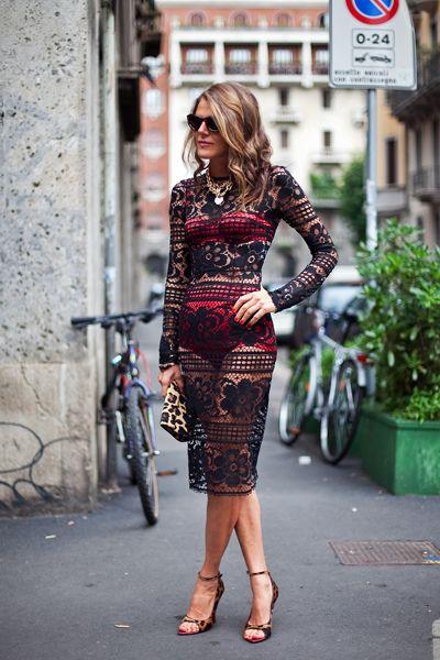 Anna Dello Russo! Street style.