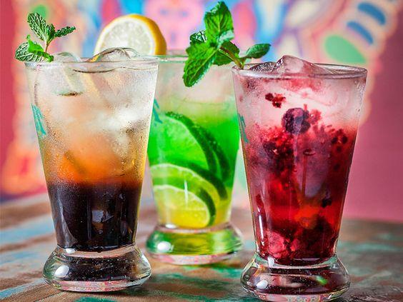 3 drink sem alcool