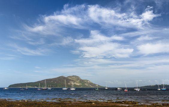 Holy Isle from Lamlash - Isle of Arran - Wikipedia, the free encyclopedia