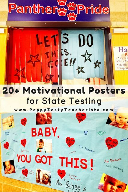 Classroom Motivation Ideas : Boost student moral with motivational posters for state