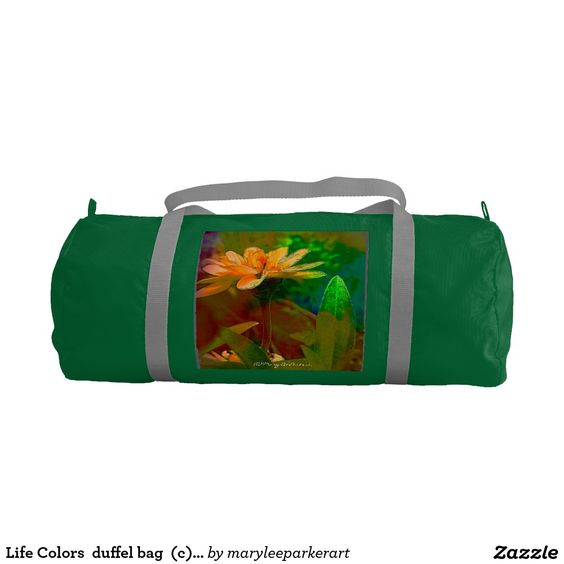 Life Colors  duffel bag  (c)MaryLeeParker15 Gym Duffel Bag