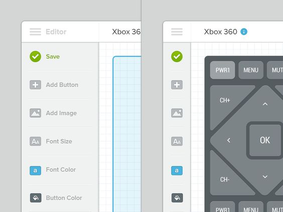 Interface Editor for Xbox 360 Interface #UI