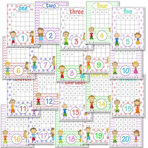 Printables Free Number Recognition Worksheets free number graph worksheets preschool recognition and words