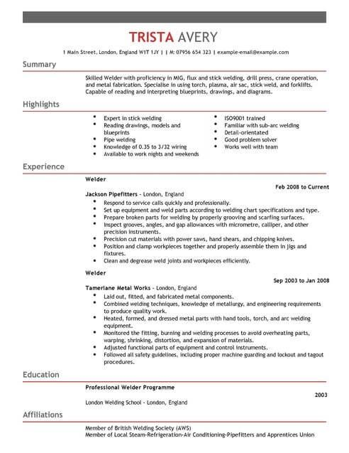 The Best Cv And Cover Letter Templates In The Uk Livecareer Best Cv Template Good Cv Resume Examples