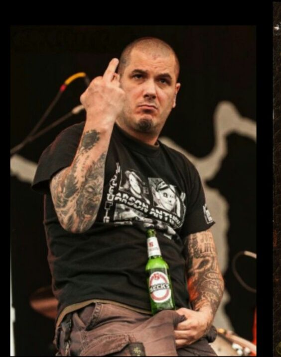 Phil anselmo from pantera the art of the bird for Phil anselmo tattoos