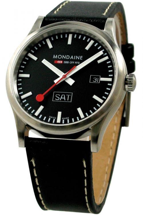 Mens Mondaine Swiss Railways Watch A6673030819SBB