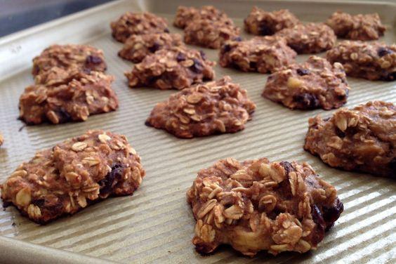 Breakfast Cookies - vegan, no added sugar, flourless, healthy. www.guesswhoscooking.com