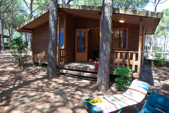 Finlandia Bungalow accommodation for 5 persons