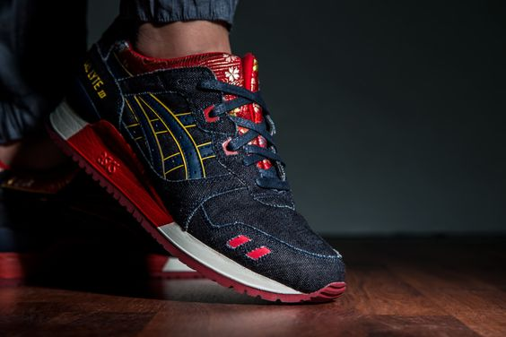 "ASICS GEL LYTE III ""KIMJust when you thought Gel Lyte IIIs couldn't get any better, the ""Kimono"" is unveiled. @LaceMeUpNews"