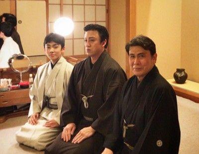 親から子へ伝統を受け継いだ八代目市川染五郎のかっこいい画像