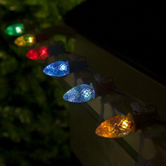 C7 Color Change Multicolor Led Christmas Light Bulbs In 2020 Led Christmas Lights Christmas Light Bulbs Christmas Lights