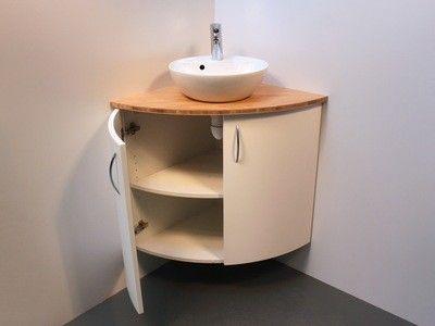 meuble d angle pour salle de bains a