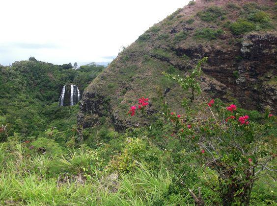 Kauai's Opaekaa Falls