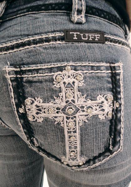 Victory Black & White Cowgirl Tuff Co.