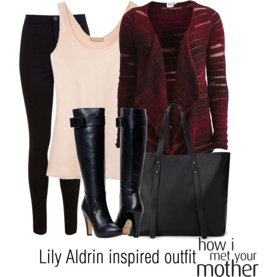 Lily Aldrin inspired outfit/HIMYM by tvdsarahmichele on Polyvore featuring Object Collectors Item, Michael Kors, Miss Selfridge and Forever 21