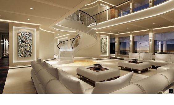 Most Luxurious Yachts Interior Design Luxury Interior Design