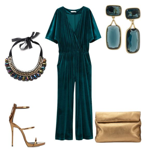 """""""Teal Me From Here!"""" by merylandry on Polyvore featuring MANGO, Giuseppe Zanotti, Jigsaw and Lauren Ralph Lauren"""