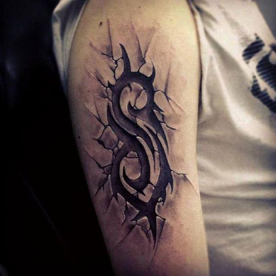 Slipknot logo, tattoo, awesome :3