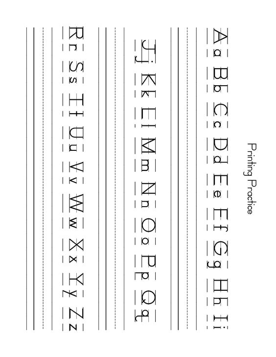 Free Lowercase Letter Worksheets | ZB Printing Practice Sheet ...