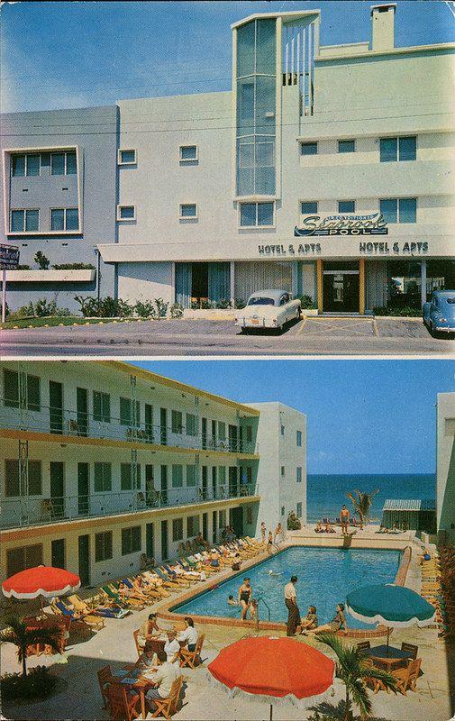 The Seabrook Hotel Apartments Miami Beach Florida And
