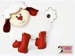 molde de ovelha em feltro - Pesquisa Google
