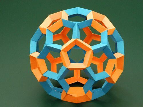 Assembled truncated icosahedron