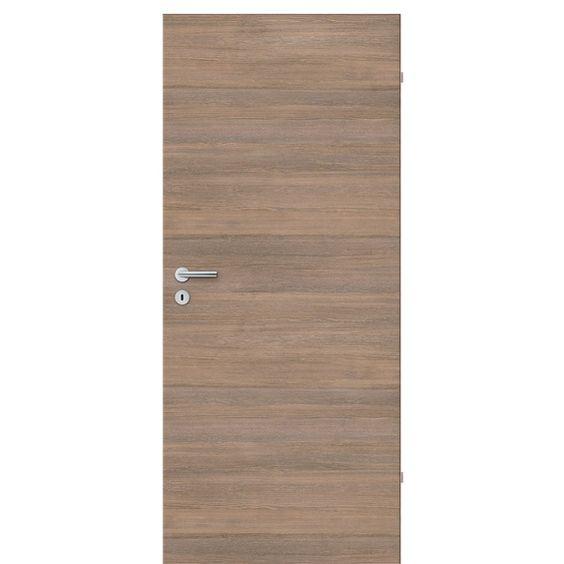 Zimmertür CPL Lärche Smoke waagerecht 73,5 cm x 198,5 cm DIN Links im OBI Online-Shop Tür 74,99 Zarge 82,99