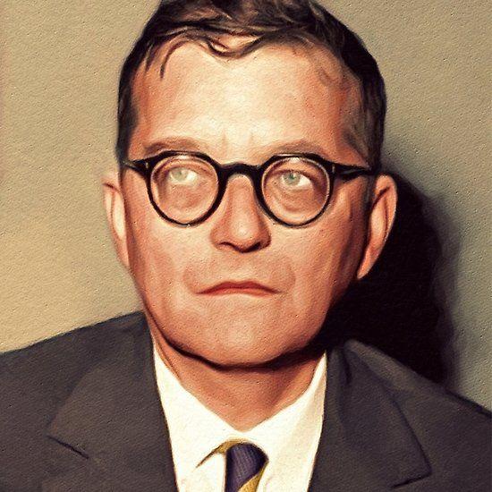 Dmitri Shostakovich Famous Composer In 2020 Famous Composers Music Composers Classical Music
