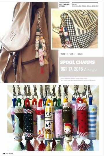 Spool charms