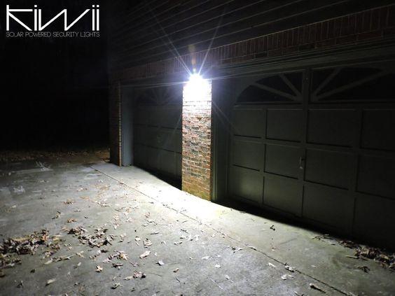 Kiwii solar powered security lights are efficient, versatile…