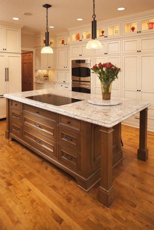 Creative Kitchen Islands With Stove Top Makeover Ideas 7 Kitchen Island With Cooktop Kitchen Island With Stove Kitchen Design