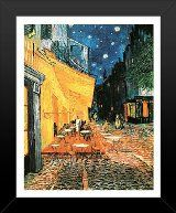 16x20 FRAMED Poster Print Poster Van Gogh Poster Print Cafe Terrace At Night