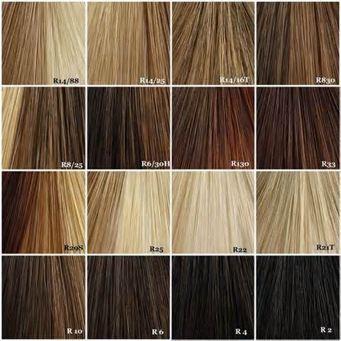 Highlight swatches   hairstyles   Pinterest   Swatch, Hair coloring ...